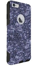 Otterbox Commuter Customized Glitter Case for 4.7 iPhone 6/6s Smoke/Blk Sparkly