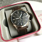 Fossil Watch * FS5280 Townsman Chronograph Black Dial Brown Leather COD PayPal <br/> NATIONWIDE COD, Free Ship, Meet Up, PayPal Accepted
