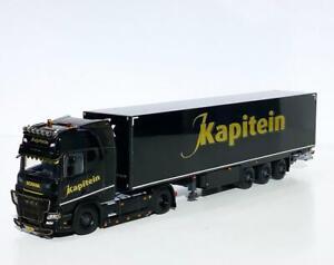 "Scania R highline CR20H 4x2 box trailer ""J.Kapitein"" WSI truck models 01-3442"