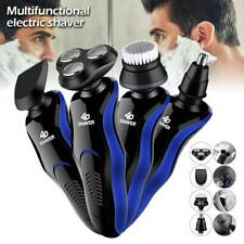 Men Electric Razor Shaver Wet/Dry Rechargeable Rotary Cordless USB Charging UK