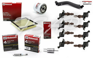 Motorcraft Tune Up Kit 2008-2010 Ford F250 F350 V8 5.4L Ignition Coil DG521