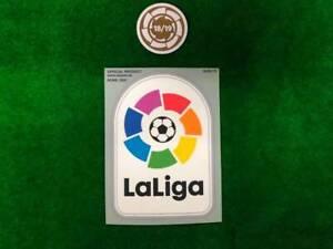 OFFICIAL FC BARCELONA 2018-19 CHAMPION + LA LIGA 2019-2020 PLAYER SIZE PATCH