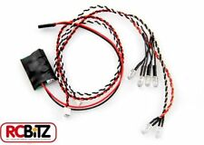 Axial simple controlador LED Blanco 4 2 Luces Rojas Simple 1 Enchufe Conectar sin soldadura