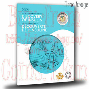 1921-2021 - Discovery of Insulin 100th Anniversary 7-coin Set 3x$2,$1,25c,10c,5c