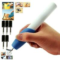 Electric Engraving Engraver Pen Carve DIY For Jewellery Metal Glass~ Jewelr U6W7