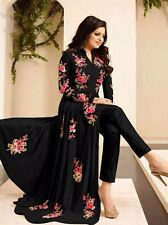 Drashti Dhami Black Colour Designer Anarkali Suits