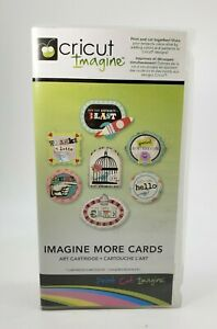 """Cricut Imagine """"Imagine More Cards"""" Cartridge with Box and Inserts FREE SHIPPING"""