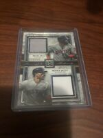 2020 Topps Museum Collection David Ortiz / Mookie Betts Dual Patch Relic 24/50