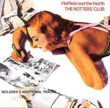 Hatfield And The North The Rotters Club CD+Extra Tracks NEW SEALED