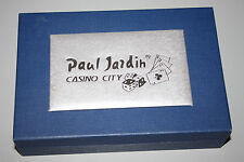 Paul Jardin CASINO CITY mans water resistant watch set NIB RARE COLLECTILBE