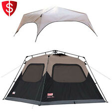 Instant Tent Rainfly Accessory 6 Person Camping Cabin Outdoor Family Hiking