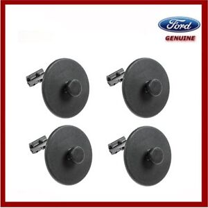 Genuine Ford Transit Custom 2012 Onwards Front Rubber Floor Mats Fixing Clips x4