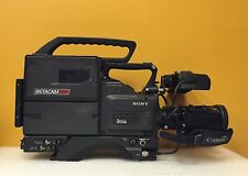 Sony DXC-537 Color Video Camera + PVV-1A Recorder, DXF-501 Viewfinder & 13X Lens
