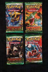 Pokemon Black White Dragons Exalted: 4x Booster Packs - Art Set - Factory Sealed
