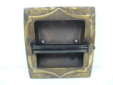 Amerock Monterey Antique English Brass Tissue Holder with complete pieces