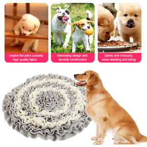 Pet Dog Snuffle Mat Nose Training Sniffing Pad Toys Feeding Cushion Blanket Game