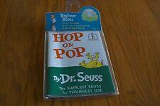 Hop on Pop Dr. Seuss Children's Book and Audio CD NEW Teaching Supplies