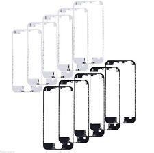 "10X LOT Bezel Front Frame LCD Holder iPhone 6 Plus 5.5"" Black White W/ Hot Glue"