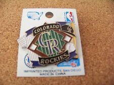 Colorado Rockies 1994 diamond & equipment lapel pin MLB