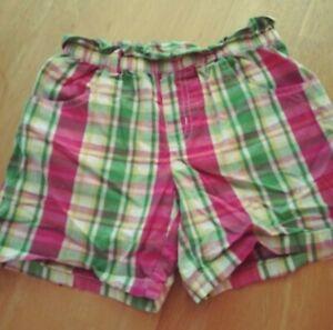 NWT Gymboree Girls Pretty Posies Striped Shorts Size 3 4 /& 12