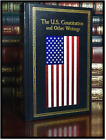 The United States Constitution Federalist Papers New Leather Bound Gift Hardback