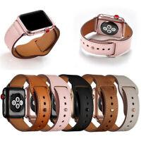 Echtes Leder Apple Watch Band Strap für iWatch Serie 4 3 2 1 38 / 42mm 40 / 44mm
