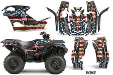 AMR Racing Yamaha Grizzly EPS/EPS Graphic Kit Wrap Quad Decals ATV 2015+ WW2