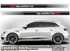 Audi a3 004 Racing réparti Graphics Stickers Décalques s3 Quattro Sport automobile