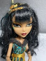 Monsters High Cleo De Nile Doll 11 Mattel 2008 Wave