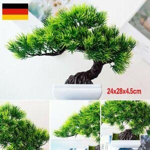 Künstliche Bonsai Kiefer Simulation Topfpflanze Zuhause Büro Dekoration