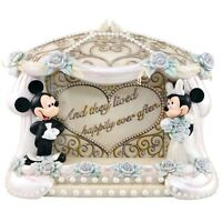 Mickey Mouse Minnie Wedding Frame Desktop Photo Lived Happily Ever After Disney