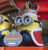 Minion King Bob Popcorn Bucket Popcorn Bucket USJ Japan Limited New