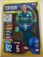 2019/20 Match Attax Soccer Card - Ederson Pro Performer Manchester City PP5