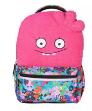 "UglyDolls Moxy 16"" Halfway Gorgeous Kids' Backpack - Pink Plush Top"