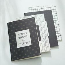 """""""Believe Yourself"""" Exercise Book Pack of 4 Lined Notebook Journal Study Notepad"""