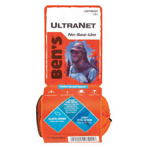 BEN'S 0006-7201 Outdoor Head Net,0.5mm Pore Size