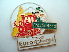 PINS EURODISNEY FRONTIERLAND DISNEY LOCOMOTIVE