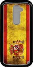 funda carcasa dura para LG G2 mini, bandera espana
