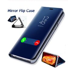 For Huawei Mate 20 P20 Pro Luxury Mirror Smart Clear View Flip Stand Case Cover