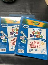 2 Pack Crayola Color Wonder 60 Pages Mess Free Refill Paper X2 Wonder Mess New