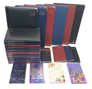 2022 Diary A4 A5 Pocket Slim Small Diary Week To View Diaries Gift Christmas---