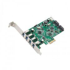 Syba SD-PEX50064 4 Port USB 3.0 & 2 Port SATA III PCI-e 2.0 x1 Card