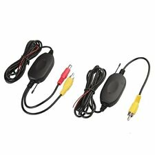 2.4GHZ RCA Wireless Transmitter& Receiver f Car Rear Reversing Camera+Monitor U0