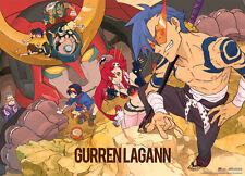 Tengen Toppa Gurren Lagann Wall Scroll Poster Anime NEW