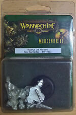 Warmachine - Mercenaries - Magnus the Warlord Epic Warcaster PIP 41033