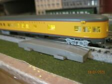 Bachmann , N Scale Union Pacific Observation Car ,lighted.new