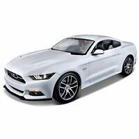 1:18 2015 Ford Mustang GT 50th Anniversary Edition Diecast Model Replica Car Toy