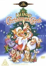 An All Dogs Christmas Carol - Adventure / Family / Animation - NEW DVD