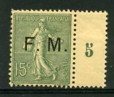 TIMBRE DE FRANCHISE N° 3 NEUF ** GOMME ORIGINALE