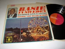 COUNT BASIE Basie In Sweden - Louis Bellson On Drums ROULETTE SR-52099 Stereo